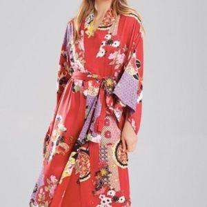 Natori Mikado Print Satin Robe